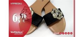 Sandály s kamínky Darky, černé 17681