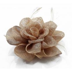 Kvet do vlasov na sponke, telový 12132