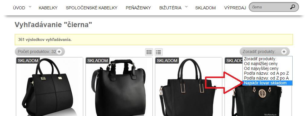 kabelky skladom, dámske kabelky skladom, vasekabelky.sk, lacné kabelky skladom,